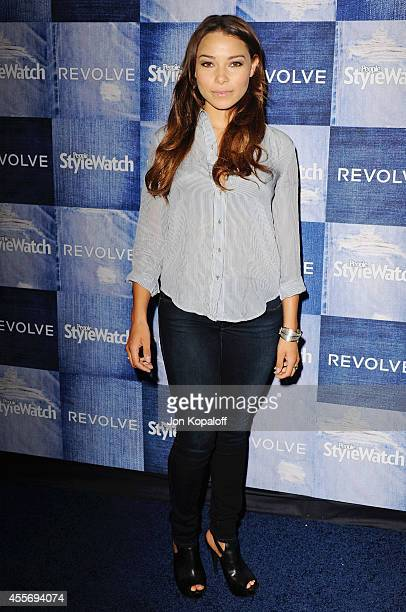 Actress Jessica Parker Kennedy arrives at the People StyleWatch 4th Annual Denim Awards Issue at The Line on September 18, 2014 in Los Angeles,...