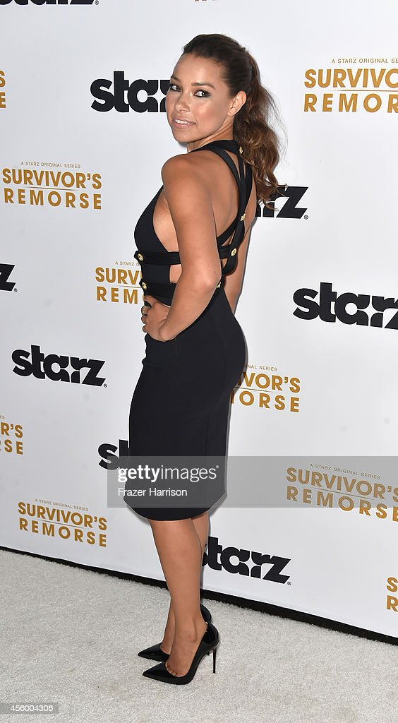 Actress Jessica Parker Kennedy arrives at the Premiere Of Starz 'Survivor's Remorse' at Wallis Annenberg Center for the Performing Arts on September 23, 2014 in Beverly Hills, California.