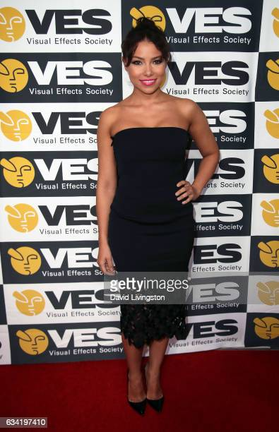 Actress Jessica Parker Kennedy attends the 15th Annual Visual Effects Society Awards at The Beverly Hilton Hotel on February 7 2017 in Beverly Hills...