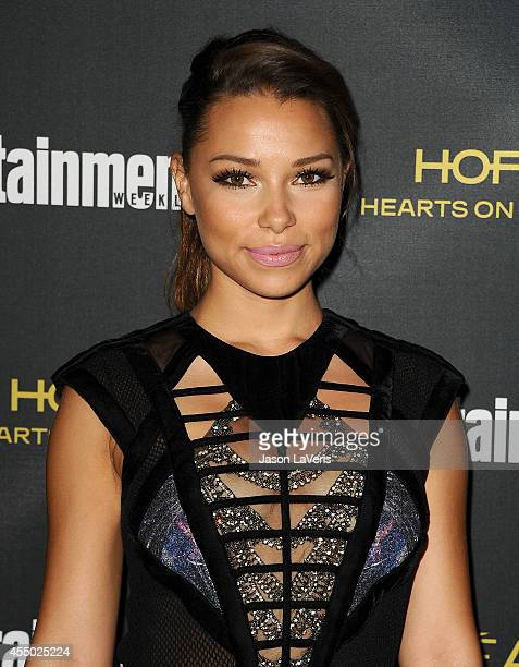 Actress Jessica Parker Kennedy attends the 2014 Entertainment Weekly preEmmy party at Fig Olive Melrose Place on August 23 2014 in West Hollywood...