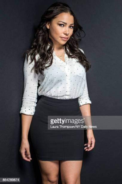 Actress Jessica Parker Kennedy photographed for NY Daily News on October 7 in New York City