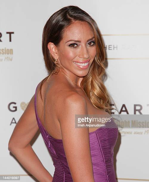 Actress Jessica Rizzo attends the 12th Annual Golden Heart Awards Gala at the Beverly Wilshire Four Seasons Hotel on May 7 2012 in Beverly Hills...