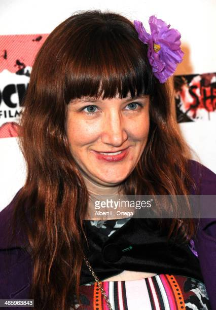 Actress Jessica Rose attends the ShockFest Film Festival Awards held at Raleigh Studios on January 11 2014 in Los Angeles California