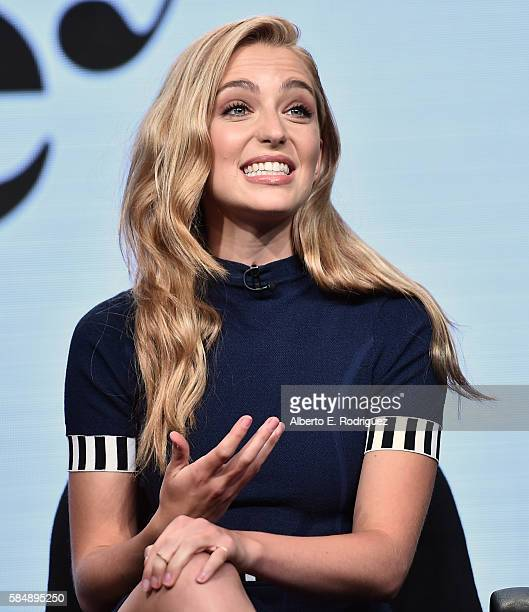 Actress Jessica Rothe attends MTV TCA Summer 2016 at the Beverly Hilton Hotel on July 31 2016 in Beverly Hills California