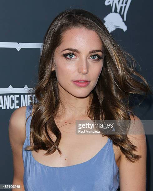Actress Jessica Rothe attends the Los Angeles premiere of 'Lily Kat' at the Vista Theatre on March 20 2015 in Los Angeles California