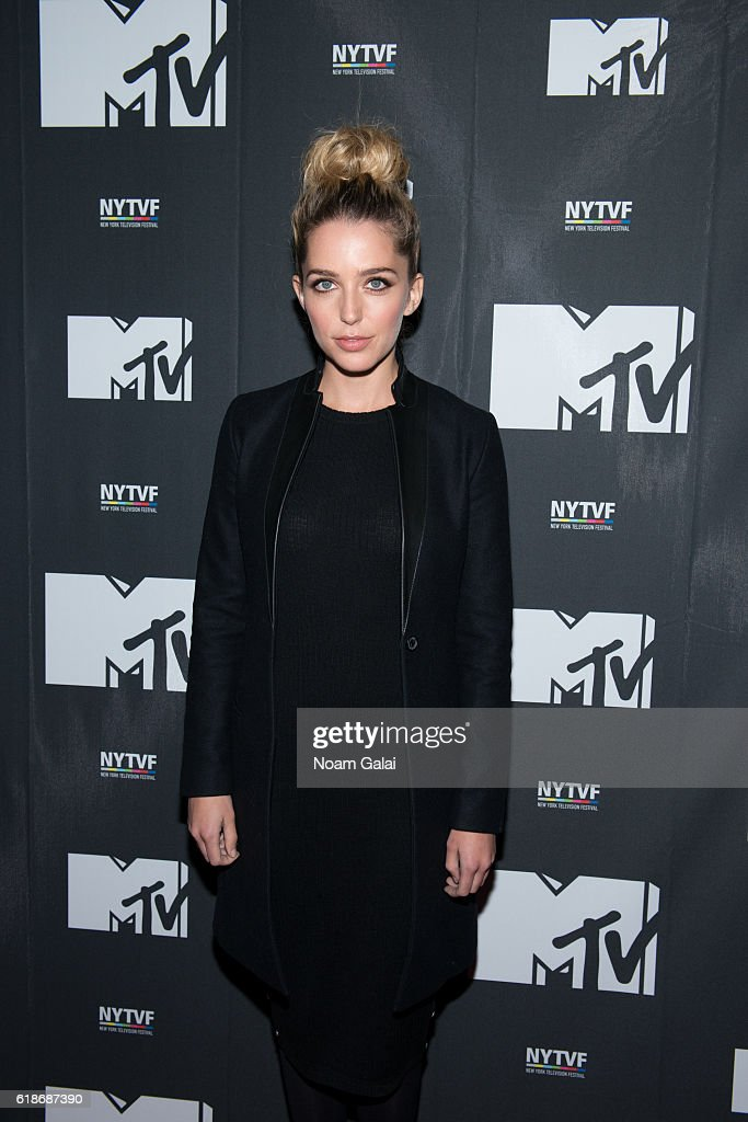 Actress Jessica Rothe attends 'The Struggle Is Real: Gender, Race, Entrepreneurship And The Women Of MTV' during the 12th Annual New York Television Festival at SVA Theater on October 27, 2016 in New York City.
