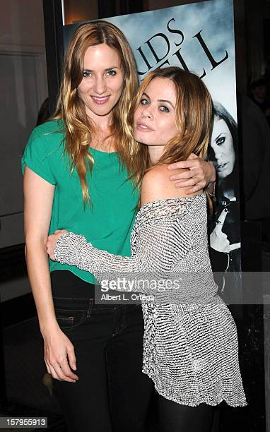 """Actress Jessica Sonneborn and actress Augie Duke arrive for the Screening of """"Bad Kids Go To Hell"""" held at Laemmle Music Hall Theater on December 7,..."""