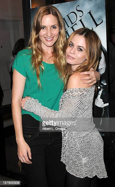 Actress Jessica Sonneborn and actress Augie Duke arrive for the Screening of Bad Kids Go To Hell held at Laemmle Music Hall Theater on December 7...