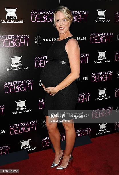 Actress Jessica St Clair attends the premiere of 'Afternoon Delight' at ArcLight Hollywood on August 19 2013 in Hollywood California