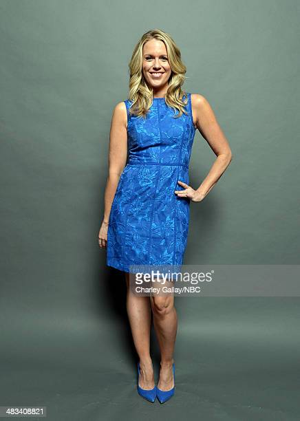 Actress Jessica St. Clair poses for a portrait during the 2014 NBCUniversal Summer Press Day at The Langham Huntington on April 8, 2014 in Pasadena,...