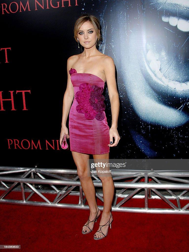 Jessica Stroup Prom Night Dress