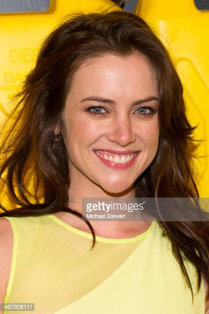 Actress Jessica Stroup attends the 8th annual charity: ball Gala at the Duggal Greenhouse on December 16, 2013 in the Brooklyn borough of New York...