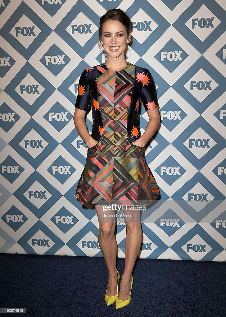 Actress Jessica Stroup attends the FOX All-Star 2014 winter TCA party at The Langham Huntington Hotel and Spa on January 13, 2014 in Pasadena, California.