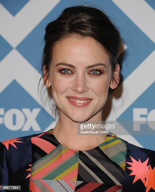 Actress Jessica Stroup attends the FOX AllStar 2014 Winter TCA Party at The Langham Huntington Hotel and Spa on January 13 2014 in Pasadena California