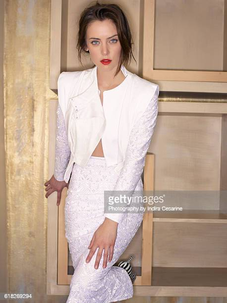Actress Jessica Stroup is photographed for The Untitled Magazine on January 14 2014 in Los Angeles California PUBLISHED IMAGE CREDIT MUST READ Indira...