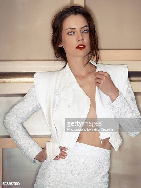 Actress Jessica Stroup is photographed for The Untitled Magazine on January 14, 2014 in Los Angeles, California. CREDIT MUST READ: Indira...