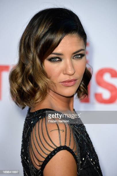 Actress Jessica Szohr arrives at the premiere of Twentieth Century Fox's 'The Internship' at Regency Village Theatre on May 29 2013 in Westwood...