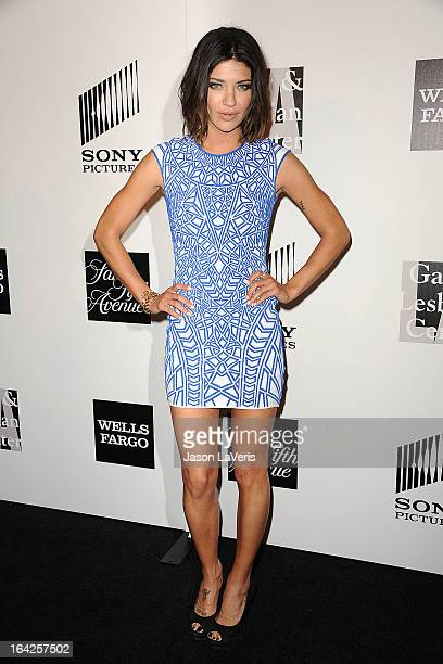 Actress Jessica Szohr attends An Evening benefiting The LA Gay Lesbian Center at the Beverly Wilshire Four Seasons Hotel on March 21 2013 in Beverly...
