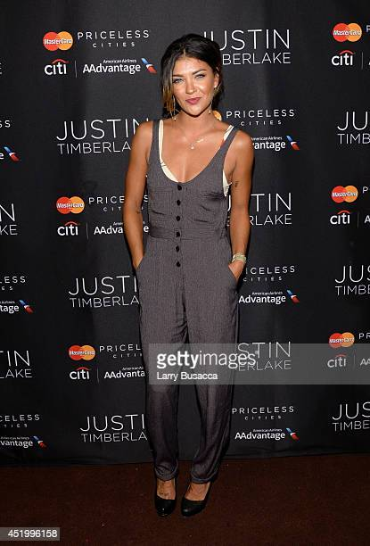Actress Jessica Szohr attends an exclusive NYC performance with Citi / AAdvantage MasterCard Priceless Access at Hammerstein Ballroom on July 10 2014...