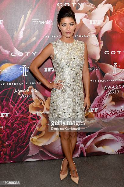 Actress Jessica Szohr attends the 2013 Fragrance Foundation Awards at Alice Tully Hall at Lincoln Center on June 12 2013 in New York City