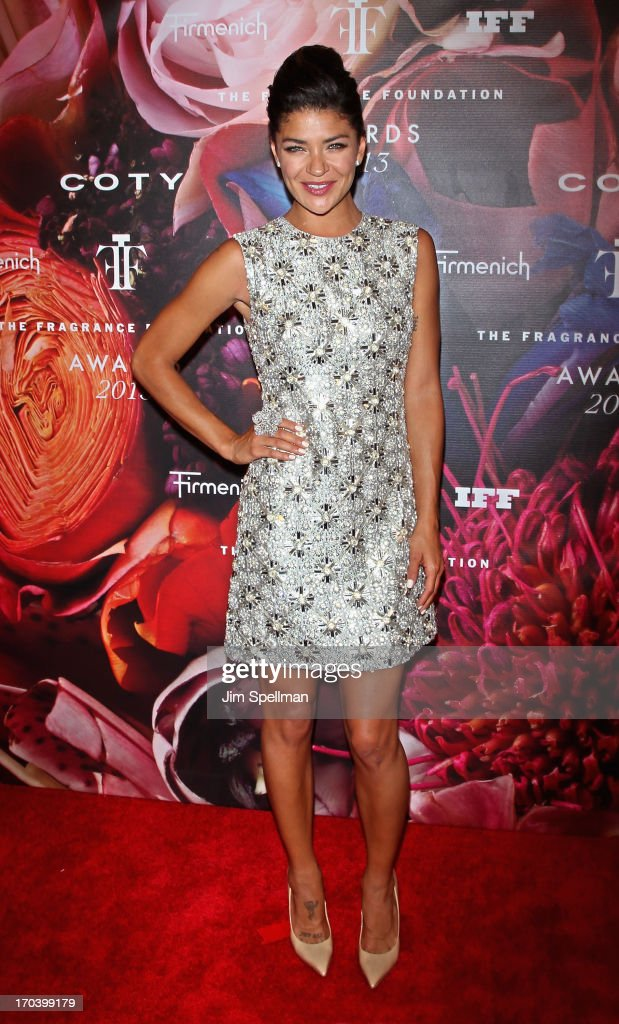 Actress Jessica Szohr attends the 2013 Fragrance Foundation Awards at Alice Tully Hall at Lincoln Center on June 12, 2013 in New York City.