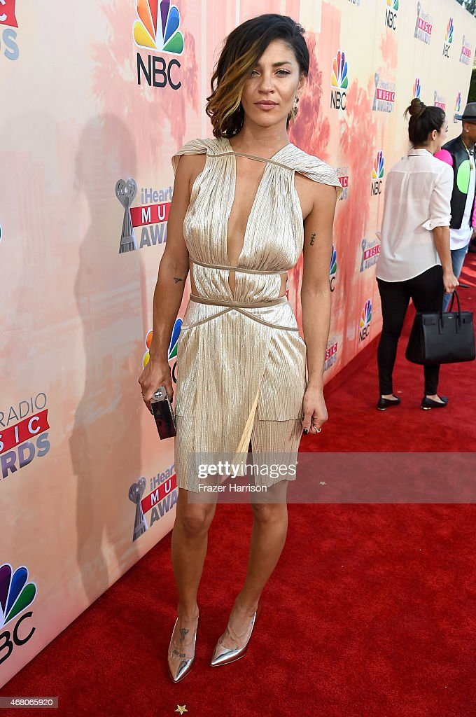 Actress Jessica Szohr attends the 2015 iHeartRadio Music Awards which broadcasted live on NBC from The Shrine Auditorium on March 29, 2015 in Los Angeles, California.