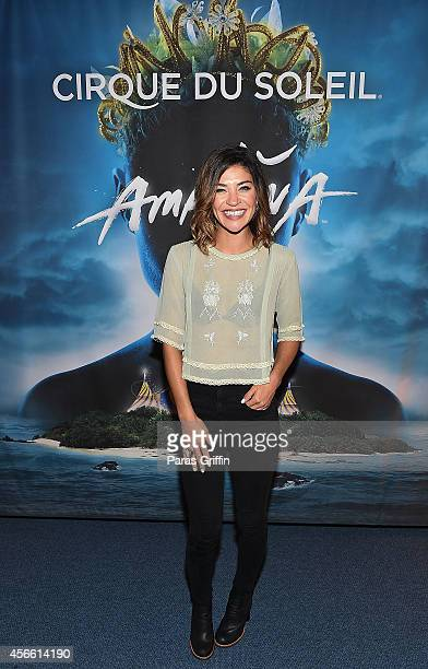 Actress Jessica Szohr attends the Atlanta premiere night of Cirque Du Soleil Amaluna at Atlantic Station on October 3, 2014 in Atlanta, Georgia.