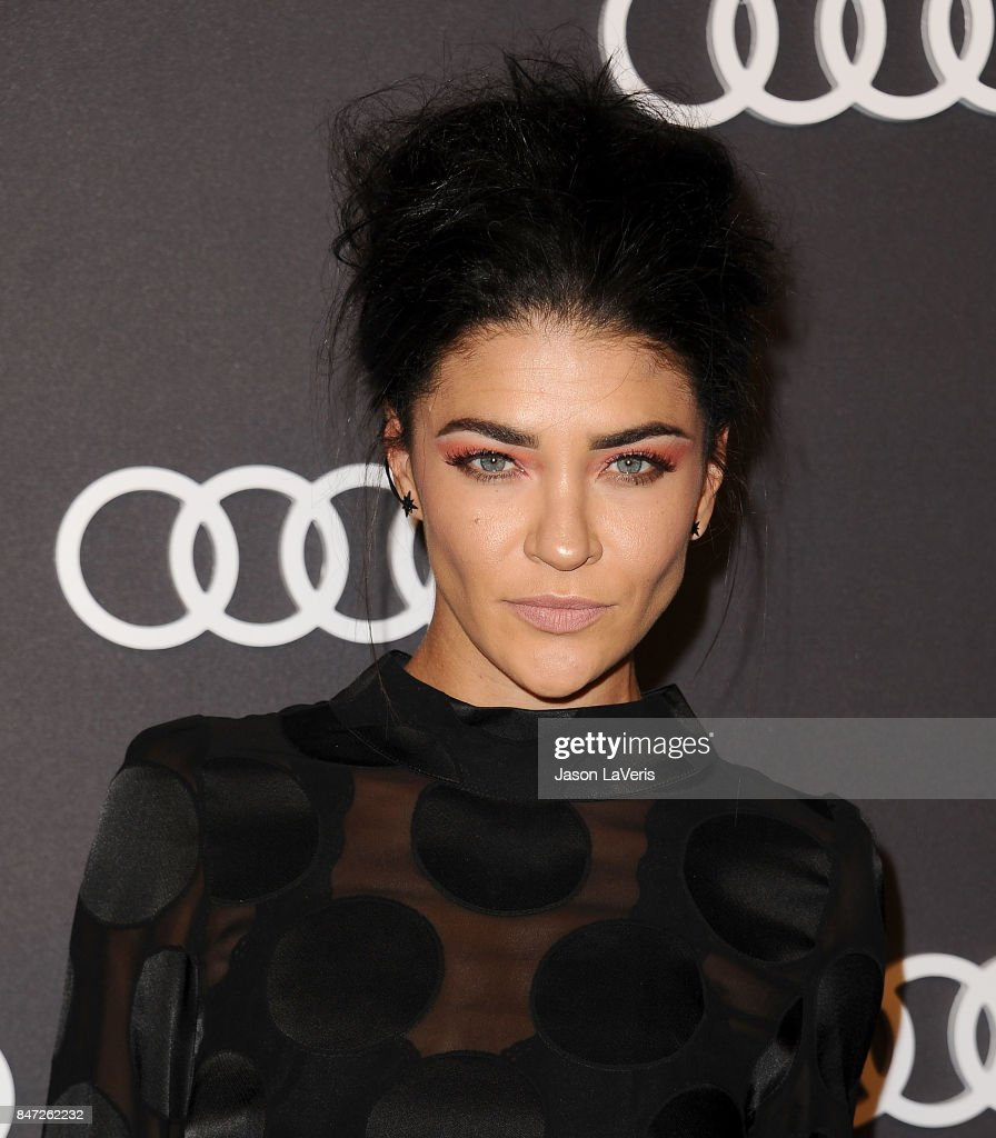 Actress Jessica Szohr attends the Audi celebration for the 69th Emmys at The Highlight Room at the Dream Hollywood on September 14, 2017 in Hollywood, California.