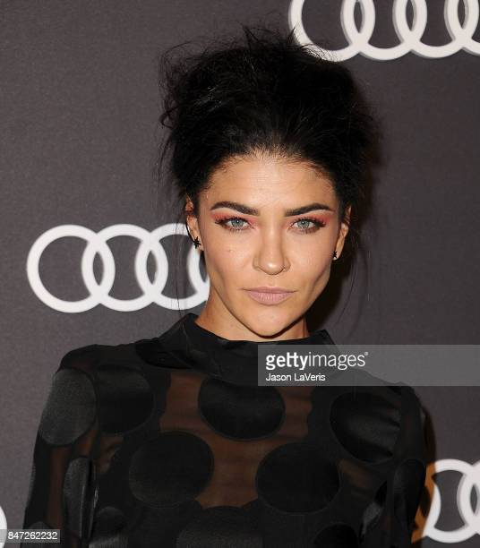 Actress Jessica Szohr attends the Audi celebration for the 69th Emmys at The Highlight Room at the Dream Hollywood on September 14 2017 in Hollywood...