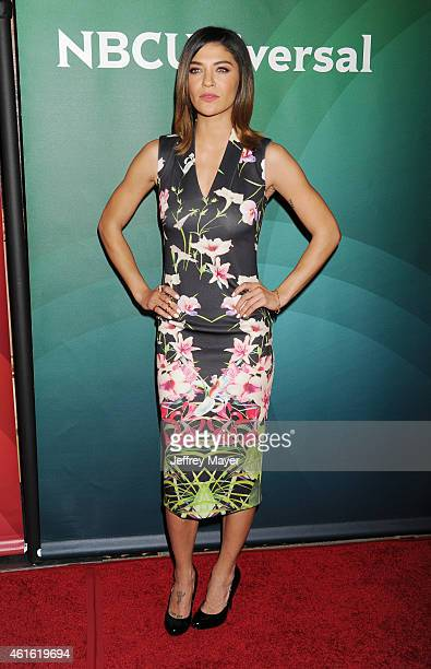 Actress Jessica Szohr attends the NBCUniversal 2015 Press Tour at the Langham Huntington Hotel on January 15 2015 in Pasadena California