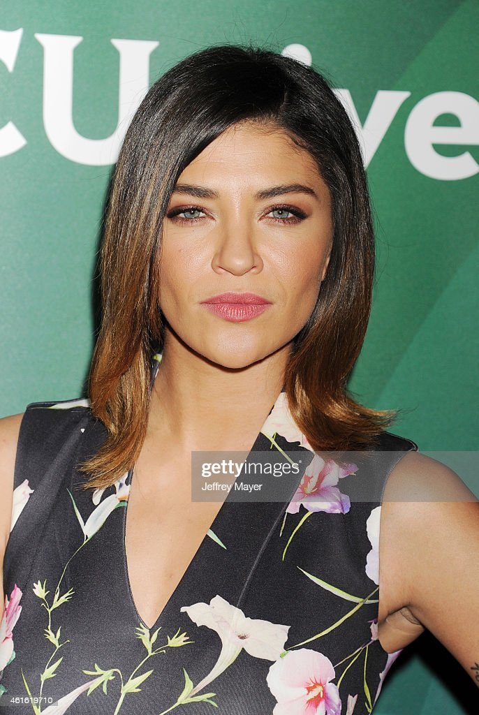 Actress Jessica Szohr attends the NBCUniversal 2015 Press Tour at the Langham Huntington Hotel on January 15, 2015 in Pasadena, California.