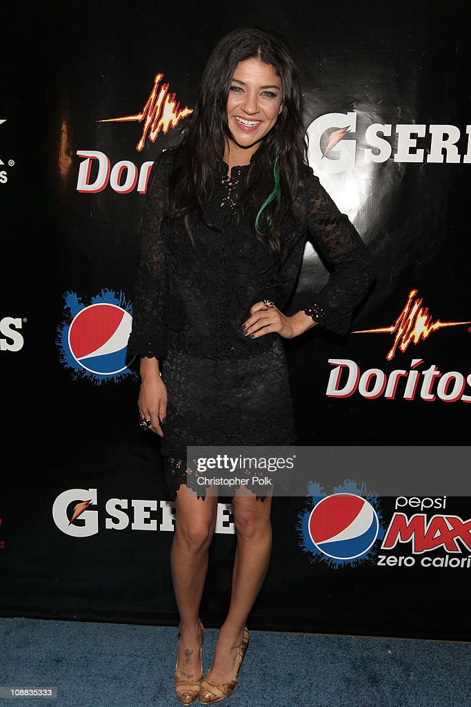 Actress Jessica Szohr attends the PepsiCo Super Bowl Weekend Kickoff Party featuring Lenny Kravitz and DJ Pauly D at Wyly Theater on February 4, 2011 in Dallas, Texas.
