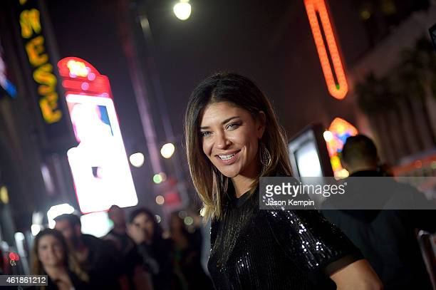 Actress Jessica Szohr attends the premiere of Manny at TCL Chinese Theatre on January 20 2015 in Hollywood California