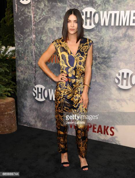 Actress Jessica Szohr attends the premiere of Twin Peaks at Ace Hotel on May 19 2017 in Los Angeles California