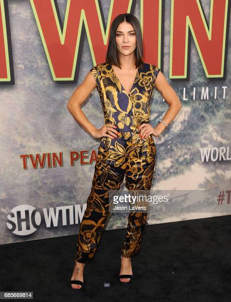 Actress Jessica Szohr attends the premiere of 'Twin Peaks' at Ace Hotel on May 19 2017 in Los Angeles California