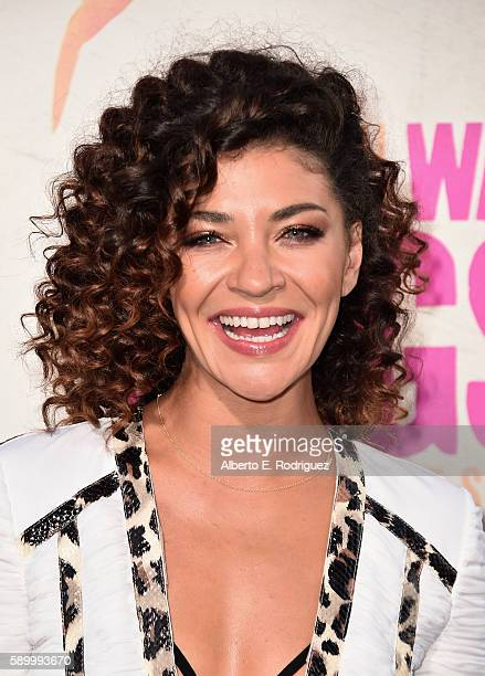 Actress Jessica Szohr attends the premiere of Warner Bros Pictures' War Dogs at TCL Chinese Theatre on August 15 2016 in Hollywood California