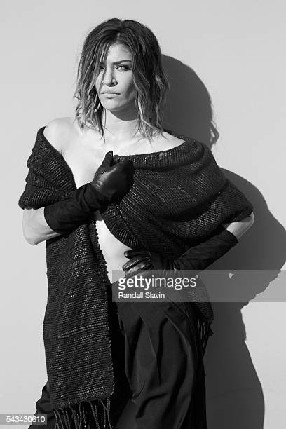 Actress Jessica Szohr is photographed for Self Assignment on January 31 2015 in Los Angeles California