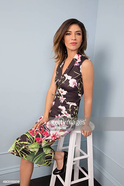 Actress Jessica Szohr is photographed for TV Guide Magazine on January 15 2015 in Pasadena California