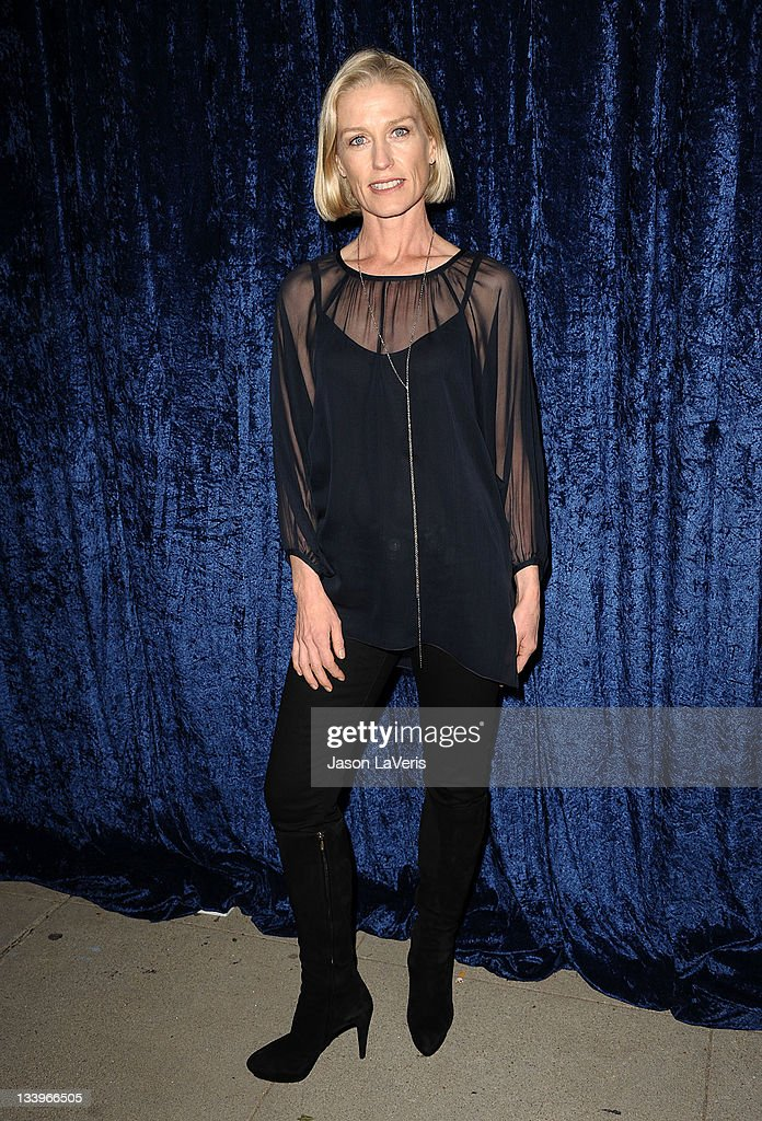 Actress Jessica Tuck attends the 'Super 8' blu-ray and DVD release party at AMPAS Samuel Goldwyn Theater on November 22, 2011 in Beverly Hills, California.