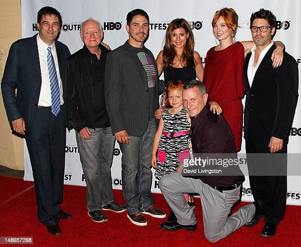 Actress Jessica Tyler Brown and director Glenn Gaylord and producer Stephen Israel and actors Mickey Cottrell Maurice Compte JamieLynn Sigler Alicia...