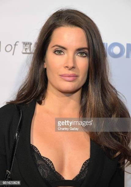 Actress Jessica Uberuaga attends the Lionsgate Release Party for Doomsday Device and Mindblown on March 12 2018 in Los Angeles California