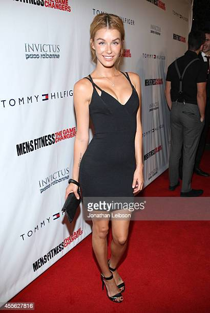 Actress Jessica Vargas at the MEN'S FITNESS 2014 GAME CHANGERS event at Palihouse on September 17 2014 in West Hollywood California
