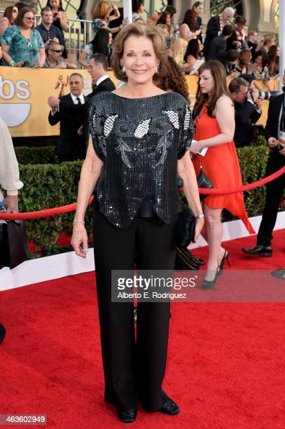 Actress Jessica Walter attends the 20th Annual Screen Actors Guild Awards at The Shrine Auditorium on January 18 2014 in Los Angeles California