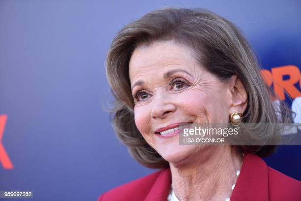 Actress Jessica Walter attends the Netflix Arrested Development Season 5 Premiere in Los Angeles, California, on May 17, 2018.