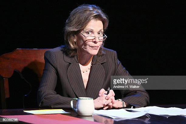 Actress Jessica Walter performs at the 24 Hour Plays at the Atlantic Theater on March 17 2008 in New York City