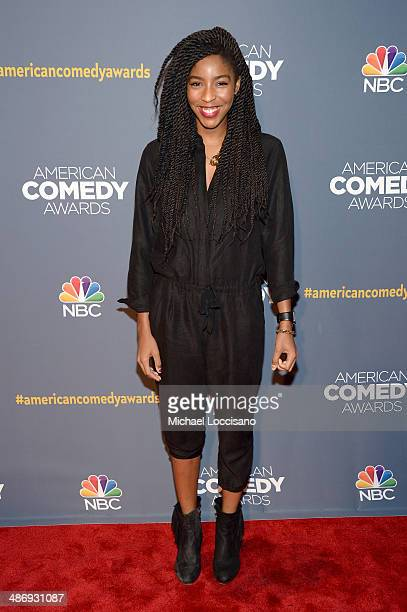 Actress Jessica Williams attends 2014 American Comedy Awards at Hammerstein Ballroom on April 26 2014 in New York City