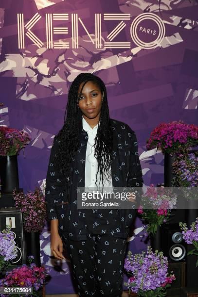 Actress Jessica Williams attends the Premiere of KENZO Presents 'Music Is My Mistress' a film by Kahlil Joseph at The Underground Museum on February...