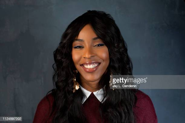 Actress Jessica Williams from 'Corporate Animals' is photographed for Los Angeles Times on January 28 2019 at the 2019 Sundance Film Festival in Salt...