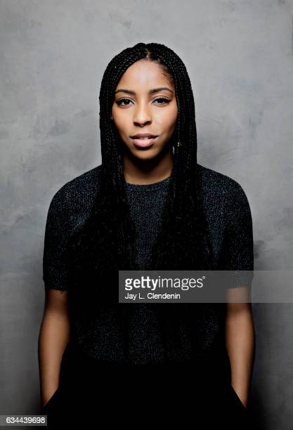 Actress Jessica Williams from the film The Incredible Jessica James is photographed at the 2017 Sundance Film Festival for Los Angeles Times on...