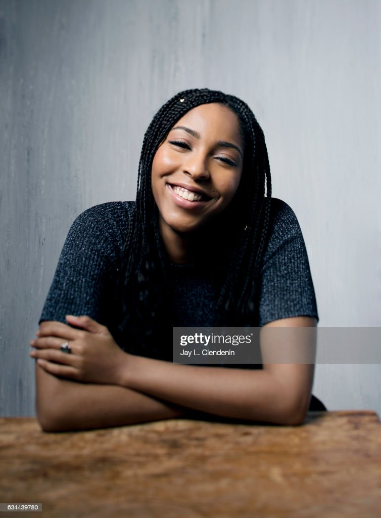 Actress Jessica Williams, from the film 'The Incredible Jessica James,' is photographed at the 2017 Sundance Film Festival for Los Angeles Times on January 21, 2017 in Park City, Utah. PUBLISHED IMAGE.